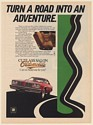 1976 Oldsmobile Cutlass Salon Turn a Road Into an Adventure Print Ad
