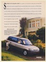 1993 Mazda MPV So Why Is It Called a Van Print Ad