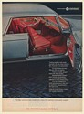 1965 Chrysler Imperial Crown Coupe Oil Treated Leather Rare Wood Inlays Print Ad