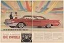 1960 Chrysler The Car of Your Life For the Time of Your Life 2-Page Print Ad