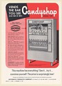 1968 Automatic Products Co Candyshop Model 100 Vending Machine Trade Print Ad