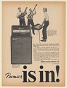 1966 The Chapin's Chapins Tom Harry Steve Chapin Premier 75 Amplifier Print Ad