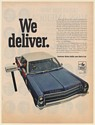 1967 AMC American Motors Ambassador US Mail Delivery Car Right-Hand Drive Ad