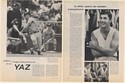 1967 Boston Red Sox Yaz Carl Yastrzemski 2-Page Photo Article