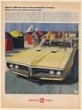1968 Pontiac Firebird 400 H.O. Convertible You've Never Played Wide-Tracking? Ad