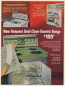 1967 Hotpoint Total-Clean Electric Range Model RB641 Green Print Ad