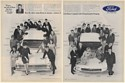 1967 Ford Mustang Mercury Caliente Young Safe Driver Winners 2-Page Print Ad