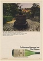 1973 Paul Masson Wine Century-Old Hand-Operated Wine Press Vineyard Saratoga Ad