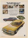 1974 Oldsmobile Station Wagons Custom Cruiser Vista-Cruiser Cutlass Supreme Ad