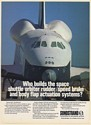 1977 Space Shuttle Orbiter Sundstrand Rudder Speed Brake Print Ad