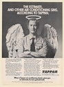 1973 Tappan Air Conditioning Dealer Angel The Estimate and Other Sins Print Ad