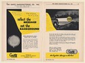 1949 Grote Manufacturing Reflectorized Highway Street Signs 4-Page Print Ad