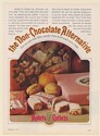 1973 Aplets & Cotlets Candy The Non-Chocolate Alternative Print Ad