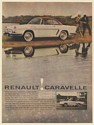 1960 Renault Caravelle Hardtop Convertible Print Ad