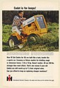 1966 IH International Harvester Cub Cadet 122 Lawn Tractor For Keeps Print Ad