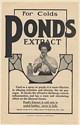 1908 Pond's Extract for Colds Lady Nasal Spraying Lamont Corliss & Co Print Ad