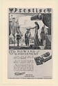 1931 Whitman's Prestige Chocolates Medieval Knight Peter Hurd art Print Ad