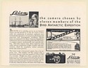 1930 Byrd Antarctic Expedition Radiogram Leica Camera Print Ad