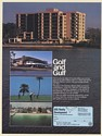 1980 Belleview Biltmore Villas Condominiums FL Golf and Gulf USS Realty Print Ad