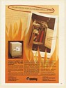 1980 Sentry Fire Safe Protect Your Papers and Valuables Print Ad
