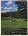 1980 Monroe Litho Color Printing Great Greens Golf Course Photo Print Ad