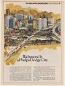 1969 Richmond VA is a Phelps Dodge City Lee Albertson art Print Ad