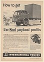 1955 IH International Harvester COE Royal Red Diamond 501 CO-220 Series Truck Ad