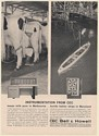 1962 CEC Bell & Howell Instrumentation Dairy Farm Ship Design Print Ad
