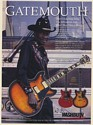 1994 Clarence Gatemouth Brown Washburn HB35 Guitar Photo Print Ad