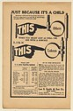1910 Luken Dental Clamp Band Don't Torture Child Lee S Smith & Son Co Print Ad