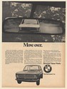 1968 BMW Seen in Rear View Mirror Move Over The Sportsman's Car Print Ad