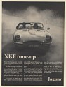 1968 Jaguar XKE Tune-Up Blast Down the Freeway More You Drive Better It Goes Ad