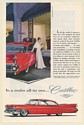 1959 Cadillac Sedan de Ville at Perino's In a Realm All Its Own Print Ad