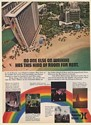 1973 Hilton Hawaiian Village Waikiki Hawaii No One Else Has This Kind of Room Ad