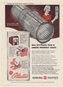 1949 GE General Electric Plastics Dixie Paper Cup Dispenser Spur Soda Print Ad