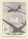 1955 Air France Airlines Hurel-Dubois HD 32 Aircraft Replace DC-3 Print Ad