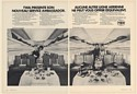 1972 TWA Ambassador Service 707 Economy First Class Hostesses 2-Page French Ad