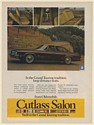 1974 Oldsmobile Cutlass Salon Grand Touring Tradition Long-Distance Seats Ad