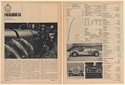 1966 Excalibur SS Road Test and Specifications 5-Page Article