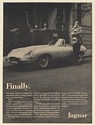1968 Jaguar XKE Roadster Finally Car You Dream About Owning Print Ad