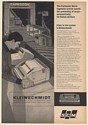 1968 United Airlines Cargo Processing Caprocon Kleinschmidt 311 Data Printer Ad