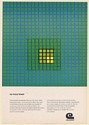 1968 Celanese Chemical Scientists R&D No Ivory Tower Print Ad