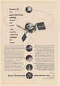 1960 STL Space Technology Labs NASA Explorer VI Satellite Print Ad