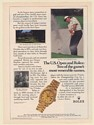 1987 Golfer Ray Floyd US Open Rolex Oyster Perpetual Day-Date Watch Print Ad
