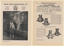 1942 Badger Water Meter Oil Enclosed Train Meters Test Machine 4-Page Print Ad