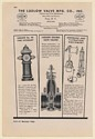 1942 Ludlow Valve Mfg Co No 90 Fire Hydrant Double Gate Valves Print Ad