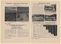 1942 GE General Electric Transit Trolley Coaches 2-Page Print Ad
