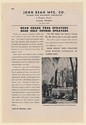 1942 John Bean Shade Tree Sprayer Oak Park IL Forestry Dept Print Ad