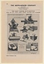 1942 Moto-Mower Fleetway Municipal Mower Features Print Ad