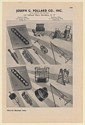 1942 Joseph G Pollard Co Water Gas Sewer Pipe Line Equipment Print Ad